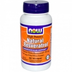 Natural Resveratrol  60 Caps