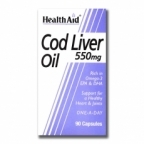 Cod Liver Oil 550 mg 90 caps